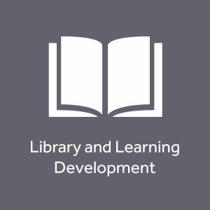 Library and Learning development space