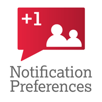 Image showing the Notification Preferences icon